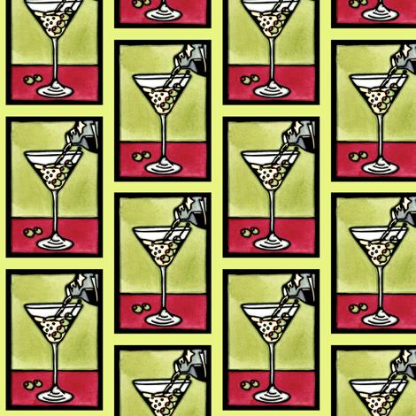 Dirty_Martini fabric by sarah_angst_arts on Spoonflower - custom fabric