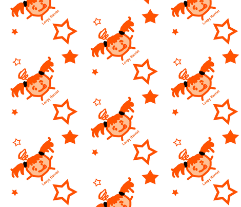 LoopyStars fabric by tequila_diamonds on Spoonflower - custom fabric