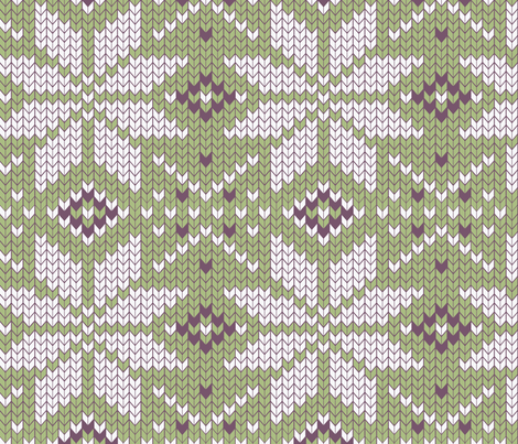 skandinavian craft geometry fabric by katja_saburova on Spoonflower - custom fabric