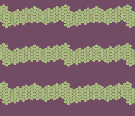 honeycomb fabric by nicholeann on Spoonflower - custom fabric