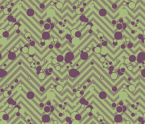 Chevron Grasshopper Popper fabric by plucksduck on Spoonflower - custom fabric