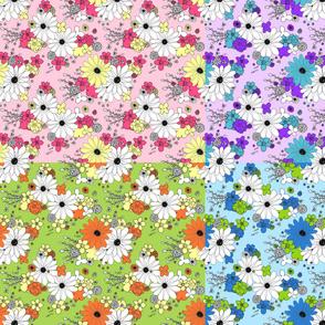 Blossom Festival Four Color Quarter Sampler
