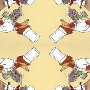 CANINE CHEFS DISH TOWEL