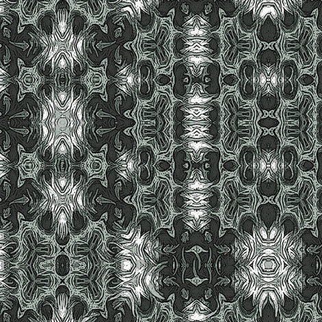huntsman_bw-charcoal fabric by wren_leyland on Spoonflower - custom fabric