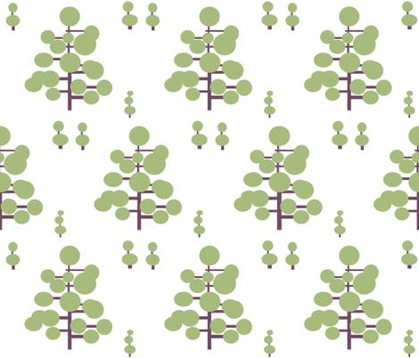 Geometric Topiary fabric by stepanic on Spoonflower - custom fabric