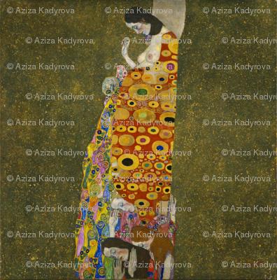 Hope II - G. Klimt