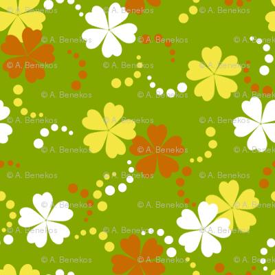 Citrusy-Ditsy Flowers