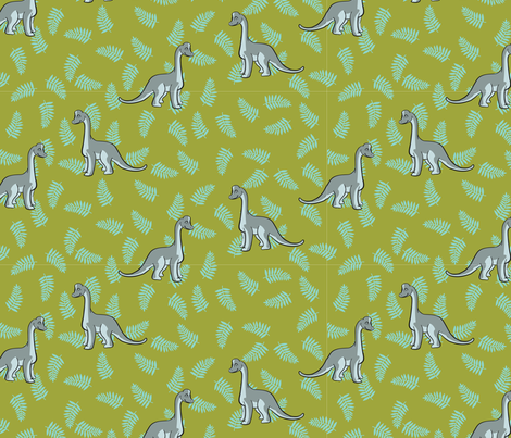 GreyDino2012 fabric by nikky on Spoonflower - custom fabric