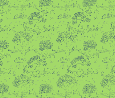For Andromeda fabric by maile on Spoonflower - custom fabric