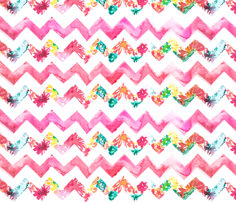 Sweet Juicy Chevron fabric by sara_berrenson on Spoonflower - custom fabric