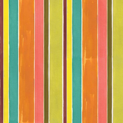 Water Stripe fabric by alicia_vance on Spoonflower - custom fabric