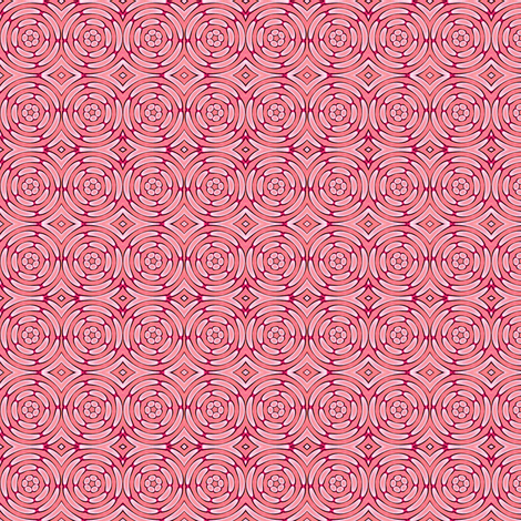Simple Rosette fabric by charlino on Spoonflower - custom fabric