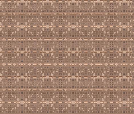 Techie Terrace Geometric © Gingezel™ 2012 fabric by gingezel on Spoonflower - custom fabric