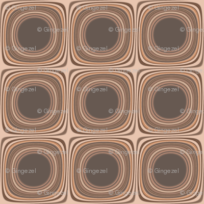 Terrace Brown Squares © Gingezel™ 2012