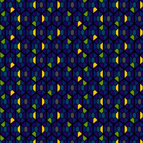 Bogota Sunangel Gems fabric by modgeek on Spoonflower - custom fabric