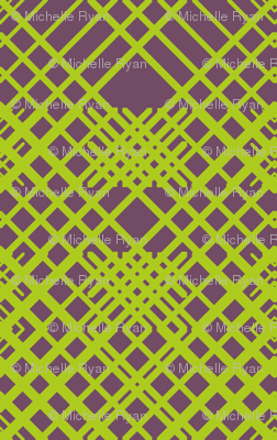 Geometric Lines - Green