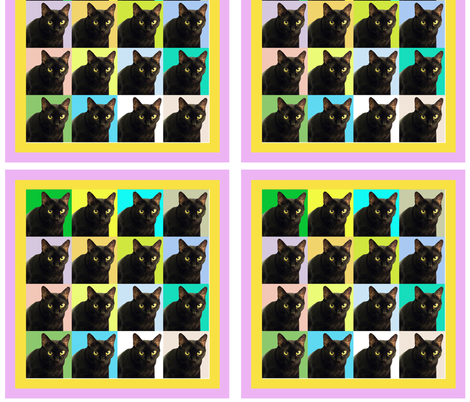 Velvet the Cat 164R fabric by oceanpeg on Spoonflower - custom fabric