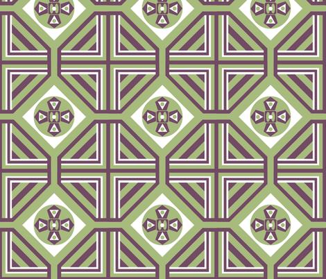A Geo Garden fabric by paragonstudios on Spoonflower - custom fabric
