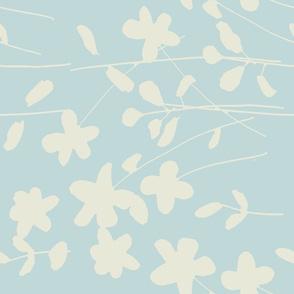 Blue flowers 144g