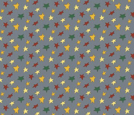Steggy's Stars fabric by evenspor on Spoonflower - custom fabric