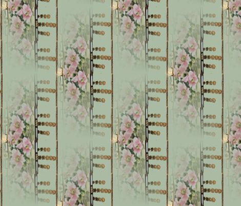 noritake_nippon_art_pillow_vase_1920 fabric by vinkeli on Spoonflower - custom fabric
