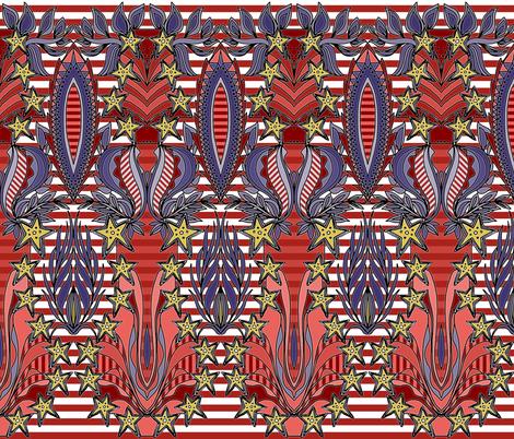 patriotic celebration fabric by scrummy on Spoonflower - custom fabric