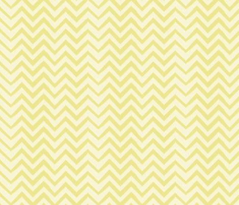 chevron-chartreuse fabric by owlandchickadee on Spoonflower - custom fabric