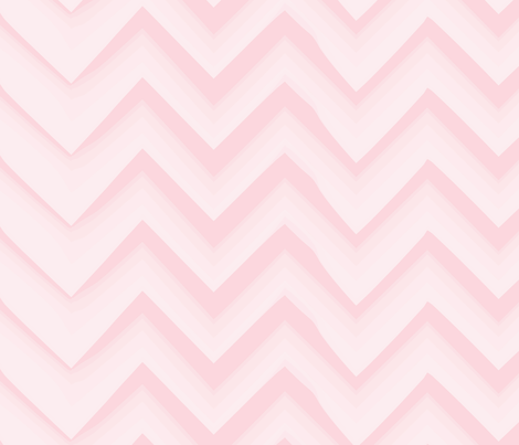 chevron-pale-pink-lg fabric by owlandchickadee on Spoonflower - custom fabric