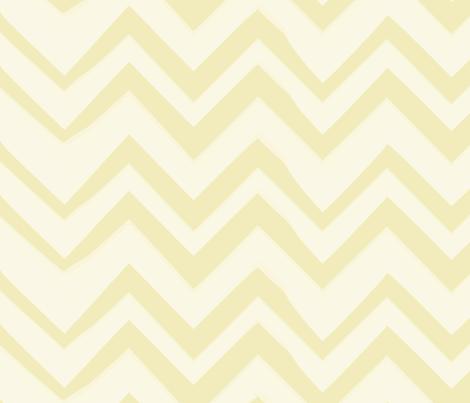 chevron-lemon-lg fabric by owlandchickadee on Spoonflower - custom fabric