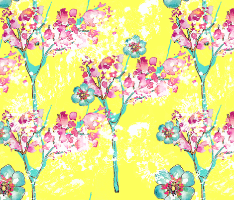 Breezy Branches fabric by sara_berrenson on Spoonflower - custom fabric