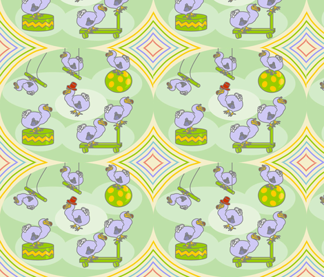Cirque_de_Dodo fabric by roxiespeople on Spoonflower - custom fabric