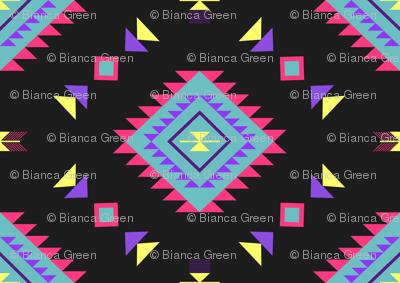 Neon Aztec