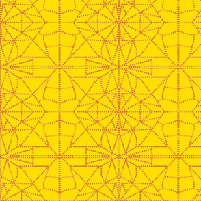 yelleoand orange dotted _triangles-ch-ch-ch