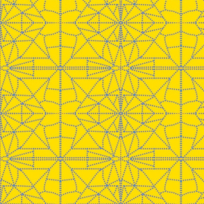 yelleoand blue dotted _triangles-ch-ch-ch-ch
