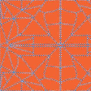 orange and blue dotted _triangles-ch-ch-ch-ch-ch-ch