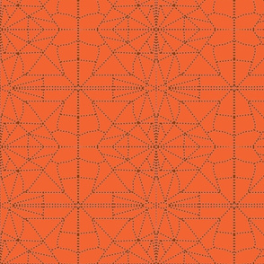orange and brown dotted _triangles-ch-ch-ch-ch-ch-ch-ch