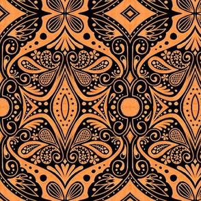Waxwing - Orange
