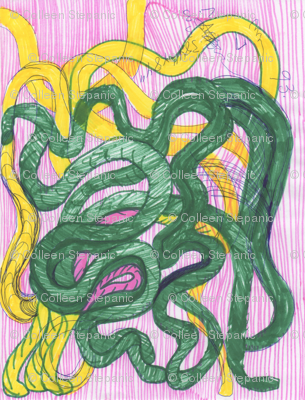 yellow_and_green_snake