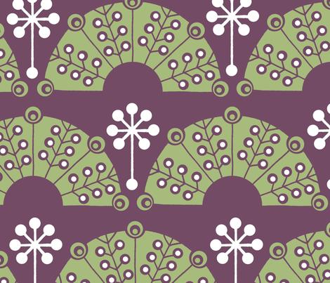 Eden Garden fabric by summerhoney on Spoonflower - custom fabric