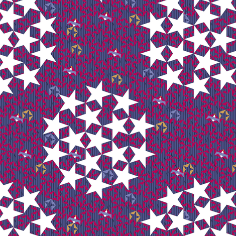 America's Glory (smaller) fabric by glimmericks on Spoonflower - custom fabric