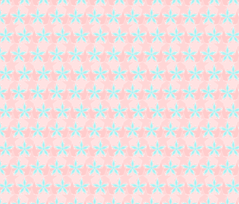 Star_Spots_-_Beach_Front fabric by glimmericks on Spoonflower - custom fabric