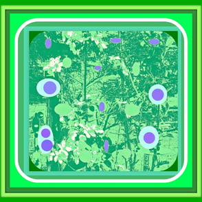 Apple_blossoms medium green_hue_with_pastel_spotsframed and refamed-ch-ed-ed