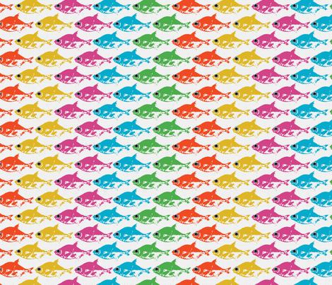 The Rainbow Fish fabric by alysnpunderland on Spoonflower - custom fabric