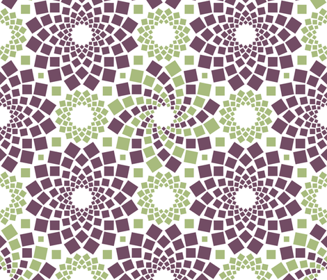 Kaleidoflowers fabric by robyriker on Spoonflower - custom fabric