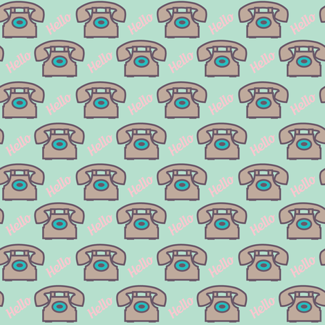 hello-ed fabric by viewfromtheskye on Spoonflower - custom fabric