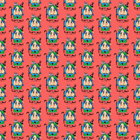 Small Mr. Gee. O. Metric fabric by amy_g on Spoonflower - custom fabric