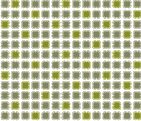 CASANAY in Olive and Grey fabric by hitomikimura on Spoonflower - custom fabric