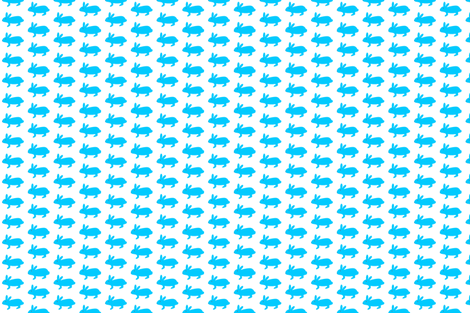 rabbit fabric by pink_pagoda on Spoonflower - custom fabric