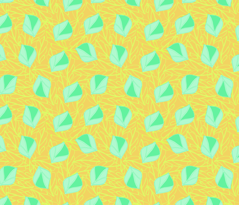 tropical_dreams4-01 fabric by sofiedesigns on Spoonflower - custom fabric