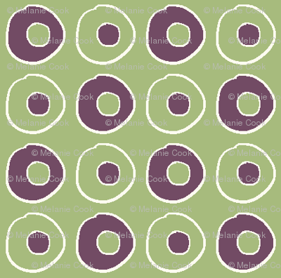 Green Purple Peas